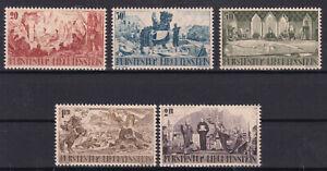 Liechtenstein Nr. 202-6 postfrisch 1942