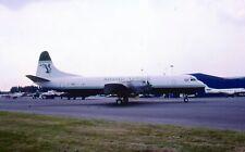 Original 35mm Aircraft slide Lockheed L-188CF Electra #16