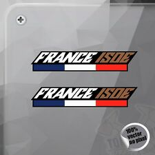 PEGATINA FRANCE ISDE 6 DAYS ENDURO KTM DECAL VINYL STICKER AUTOCOLLANT