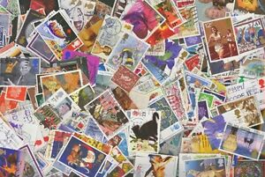 Great Britain 1,000 different Stamps