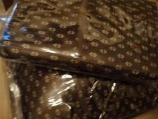 Ralph Lauren Modern Driver 100% Cotton Brown Foulard Standard Pillowcases New