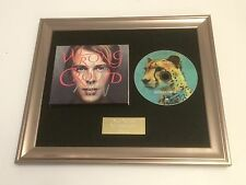 PERSONALLY SIGNED/AUTOGRAPHED TOM ODELL - WRONG CROWD FRAMED CD PRESENTATION.