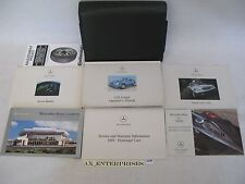 2001 Mercedes C208 CLK CLK320 Coupe Owner Manuals Operator Books Package # A179