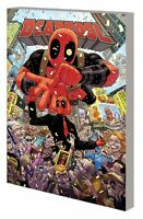 DEADPOOL WORLDS GREATEST TP VOL 01 MILLIONAIRE WITH MOUTH MARVEL COMICS TPB NEW