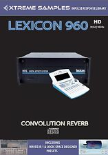 XTREME samples Lexicon 960 HD Reverb impulsi response Library