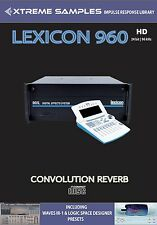 Xtreme samples Lexicon 960 HD Reverb Impulse Response Library