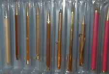 VINTAGE TELEPHONE STAND & DIALING BALLPOINT PEN COLLECTION of 22 SOME MAGNETIC