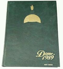 Notre Dame Fighting Irish DOME 1989 Yearbook Book '88 football championship team