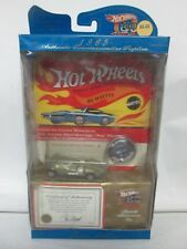 Hot Wheels 1969 Authentic Commemorative Replica 30 Years Twin Mill Green