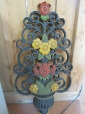 Vintage Homco flowered 25 inch wall hanging collectable decorative