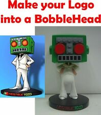 Custom LOGO Bobblehead made to look like your photo