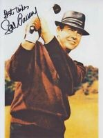 Hand Signed 8x10 photo SEAN CONNERY - GOLDFINGER Golf 007 JAMES BOND RARE + COA