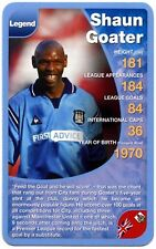 Shaun Goater - Manchester City Football Club Specials Top Trumps Card (C461)