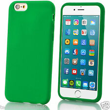 Carcasa Suave de Gel de Silicona Mate Lisa funda para Apple iPhone 6 Plus 5 4