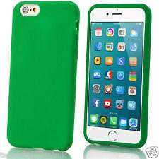 Carcasa Suave de Gel de Silicona Mate Lisa funda para Apple iPhone 6 Plus 5 4