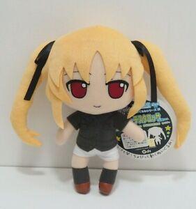 "Fate Testarossa Magical Girl Lyrical Nanoha Nendoroid Gift Project 11"" Plush"