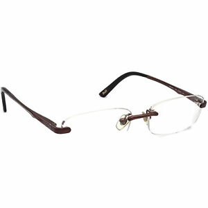 Dolce & Gabbana Eyeglasses D&G 5071 012 Brown Rimless Metal Frame 51[]15 135
