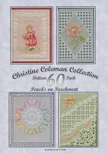 CHRISTINE COLEMAN COLLECTION PATTERN PACK 60: PENCILS ON PARCHMENT