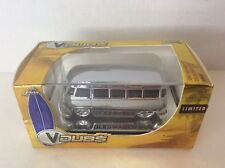 Jada Toys VDubs 1962 Volkswagen Bus Limited Chrome Silver Metal Die Cast Car