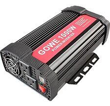 GOWE 1000W Power Inverter 12V DC to 110V AC Car Inverter Dual AC Outlets & 2 ...