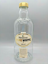 Hennessy PURE WHITE Cognac Empty Liquor Bottle RARE Collectible Not Sold in USA
