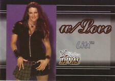 LITA 2003 Fleer WWE DIVAS W/LOVE Insert Card  #1WL