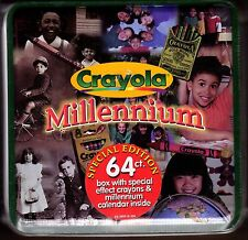 Crayola Crayons - Millennium 64 Box Special Edition New Factory Sealed 1999