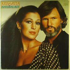 "12"" LP - Kris Kristofferson & Rita Coolidge - Natural Act - E2140 - cleaned"