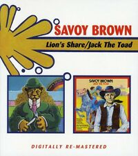 Savoy Brown - Lion's Share / Jack the Toad [New CD] UK - Import
