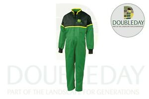 John Deere Childs Kids Deluxe Overalls available in all sizes 1-14 years