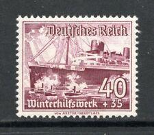 "GERMANY Deutches Reich 1937 - 40+35pf Steam Boat ""Europa"" - MNH - Mi. 50 Euros"