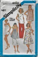 VTG Simplicity Pattern 6436 MATERNITY DRESS, TOPS, PANTS, SHORTS, BLOOMERS 10