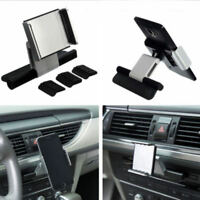 Universal Auto Car CD Slot Holder Mount For Cell Mobile Phone GPS iPhone Black