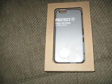 Radio Shack Protect It Snap On Case For iPhone 6/6S Gunmetal