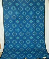 Superb Pendleton Westland Wovens Throw Blanket With Original Tag In Blues