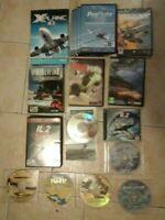 Flight Simulator PC Game Lot! XPlane 10! Proflight! IL-2 Sturmovik! More!