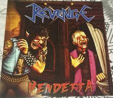 REVENGE Vendetta Speed Metal Thrash Metal Colombia Blue LP