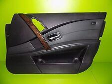 04-10 BMW E60 545i 525 528 530 535 550 front passenger door panel black OEM