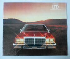 FORD LTD orig 1979 USA Mkt Sales Brochure - Landau Country Squire Wagon