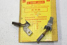 Fiat 124-125-130-Dino-850 jeu de charbons d/'alternateur LUM-LUX JX28-29