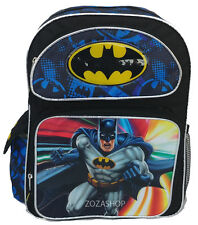 "Batman 16"" School Large Backpack Boy Backpack Super Hero Backpack"