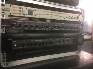 Ampeg SVT-3 Pro Bass Amp Amplifier Rack Bass Amp Tuner Gate/CompressorDBX266XL
