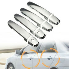Chrome Silver Exterior Door Handle Plastic Cover 2 Keyhole For 02-06 Camry le se
