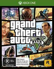 Grand Theft Auto 5 V GTA V For Xbox One X Video Game Open World Game