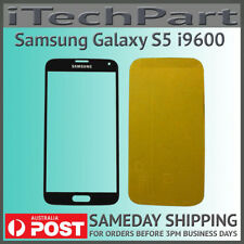 Black LCD Screen Lens Glass Replacement For Samsung Galaxy S5 i9600