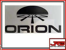 Orion Vinyl Logo Sticker in Black