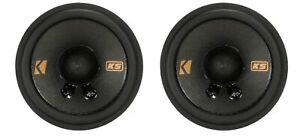 """Pair Kicker 47KSC2704 50 Watt 2.75"""" Mid Range Mid/Tweeter Speakers KSC270"""