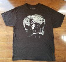 MARVEL The Punisher Thin Light T-Shirt Distressed Crewneck Sz L