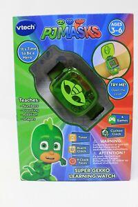 VTech - PJ Masks Super Gekko Learning Watch NEW IN BOX Ages 3-6