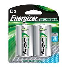 4 x Pilas recargables Energizer D Talla 2500 mAh NiMh antorcha Toys